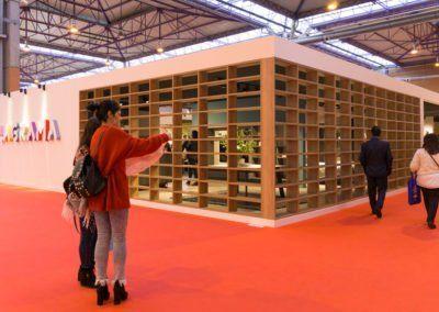 Exterior del stand de Lagrama en la Feria de Zaragoza 2018