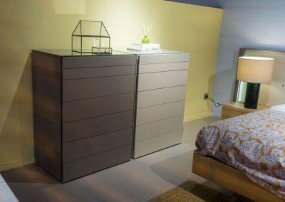 Muebles de cajoneras para el dormitorio moderno