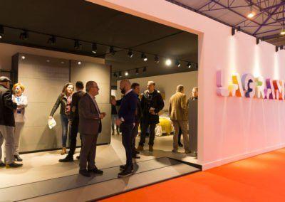 Stand de Lagrama en la Feria del mueble de Zaragoza 2018