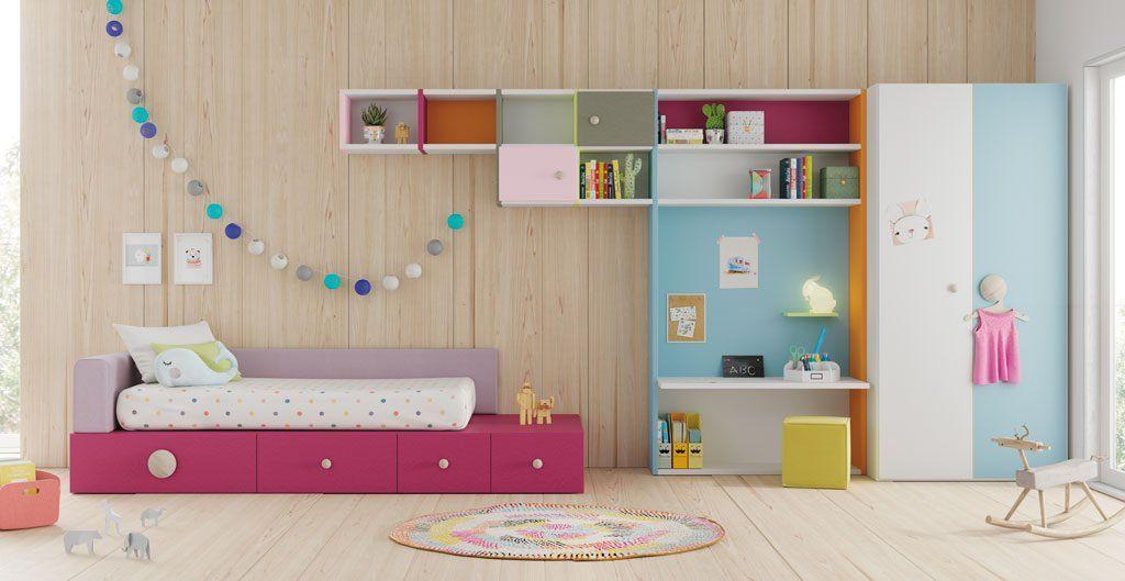 Dormitorio infantil modelo Quito