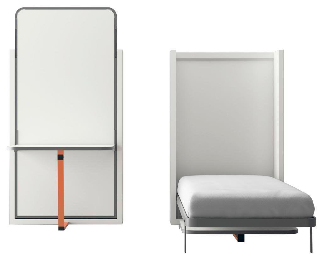Cama abatible vertical modelo Blink con mesa