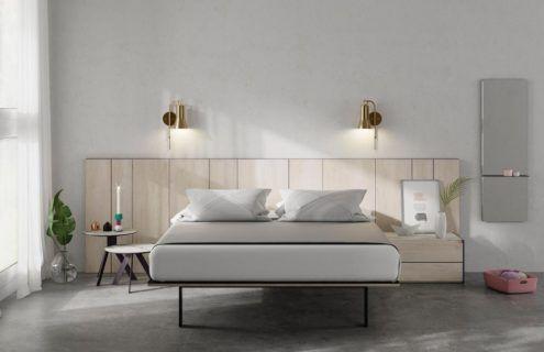 Dormitorio de matrimonio con el cabecero AX
