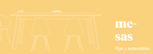 Mesas fijas y extensibles