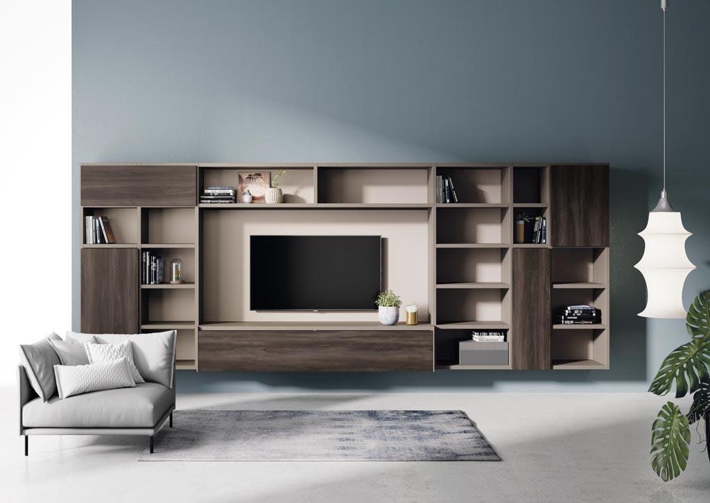 Salones modernos escoge el que m s se adapte a tu estilo - Mesas de libro para salon ...