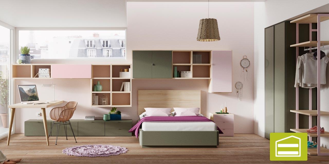 Dormitorio infantil con literas dormitorios t dormitorios - Muebles ninos europolis ...