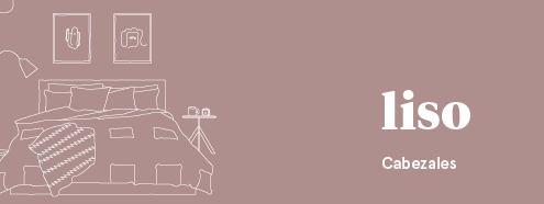 Dormitorios de matrimonio con cabeceros modelo Liso