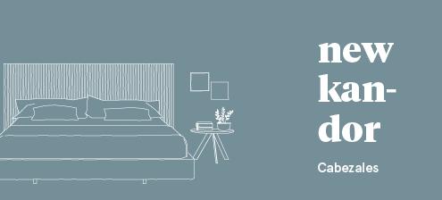 Dormitorios modernos con cabeceros tapizados New Kandor