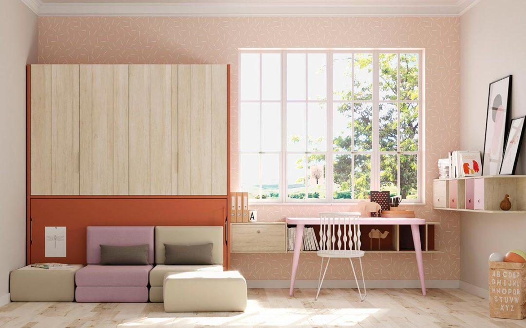 Camas abatibles: La solución perfecta para la habitación juvenil