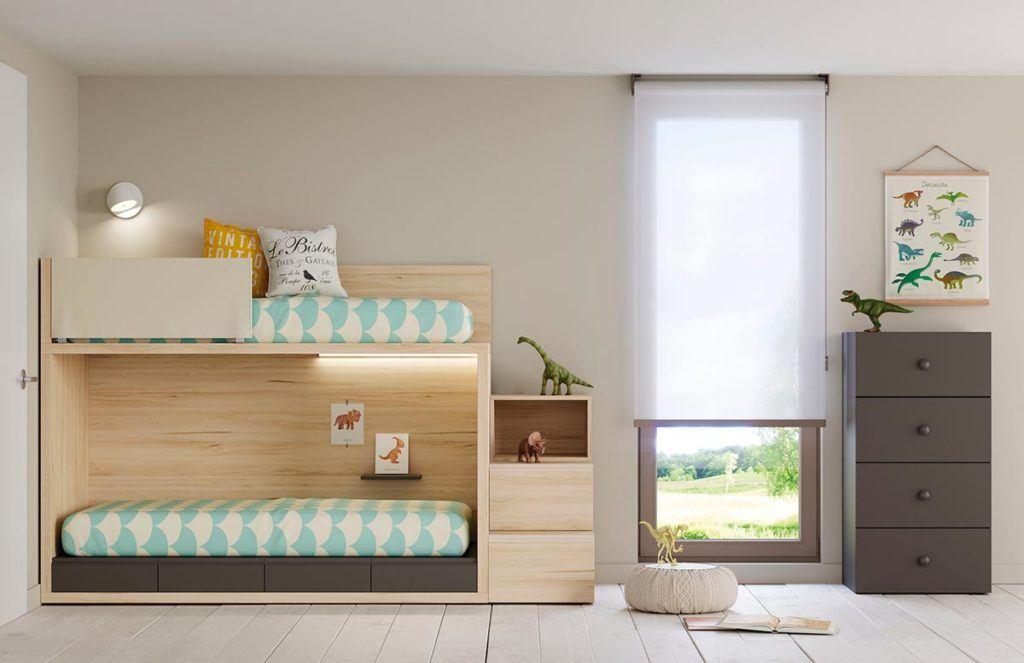 Módulos de la colección Cottage Modular: módulo inferior y protector tapizado