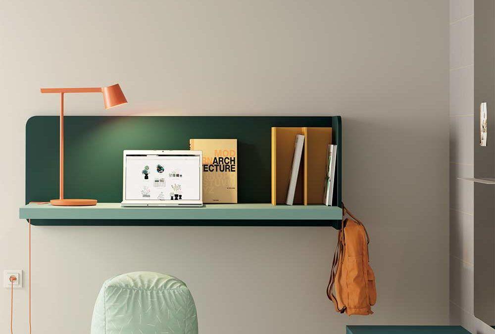 Como crear una oficina o escritorio si disponemos de poco espacio