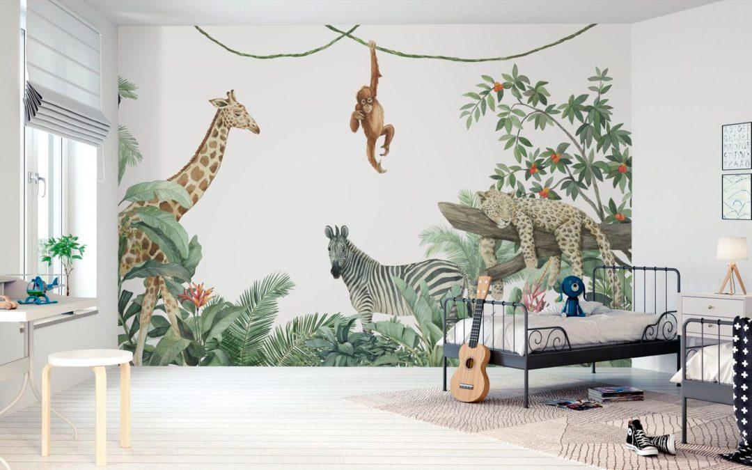Decorar paredes de habitaciones infantiles con vinilos  [2º parte]